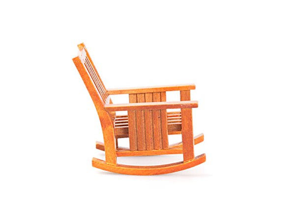 Детское кресло качалка  из дерева 5